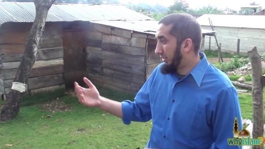 Nouman Ali Khan Visiting Family in Chiapas