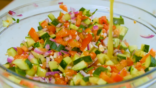 Aramark – Simple Persian Salad